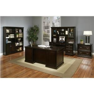 kathy ireland Home by Martin Fulton KIH Open Bookcase
