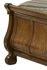 Arched Footboard