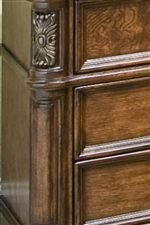 Applied Carvings & Dramatic Mouldings