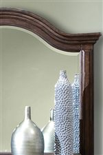 Landscape Mirror with Elegantly Arched Top