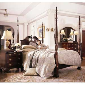 Kincaid Furniture Carriage House Queen Bedroom Group