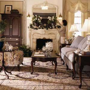 Kincaid Furniture Carriage House California King Flat Headboard Rice Poster Bed