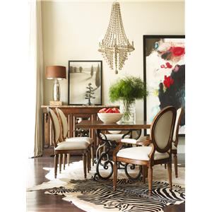 Kincaid Furniture Artisan's Shoppe Dining 58