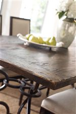 Distressed Oak Detail