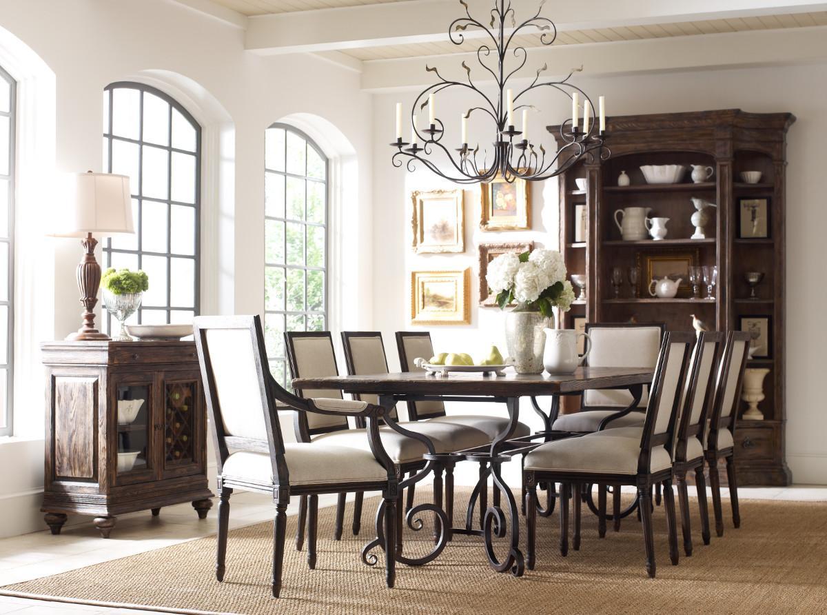 Kincaid Furniture Artisans Shoppe Dining Seven Piece Rectangular