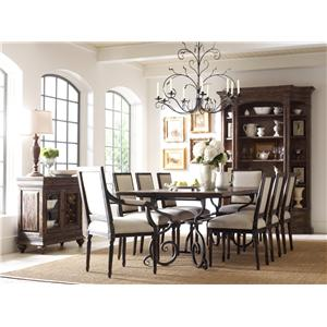Kincaid Furniture Artisan's Shoppe Dining Traditional 60
