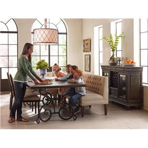 Kincaid Furniture Artisan's Shoppe Dining Traditional 72