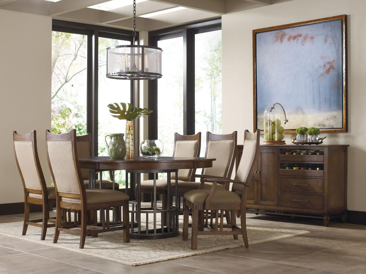 kincaid furniture bedford park formal dining room group