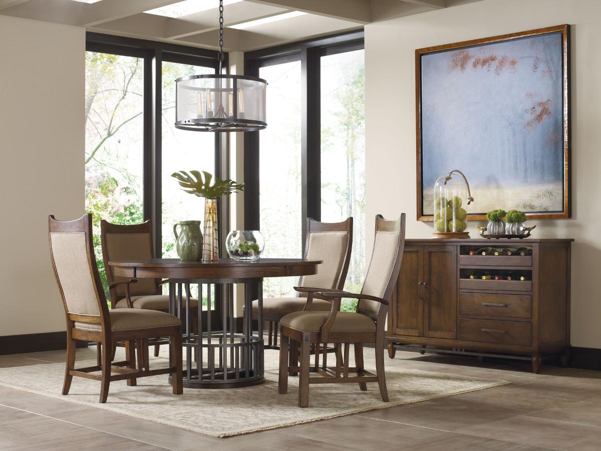Kincaid Furniture Bedford Park Formal Dining Room Group - Item Number: 74 Dining Room Group 1