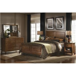 Kincaid Furniture Cherry Park Queen Bedroom Group
