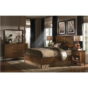 Kincaid Furniture Cherry Park King Bedroom Group