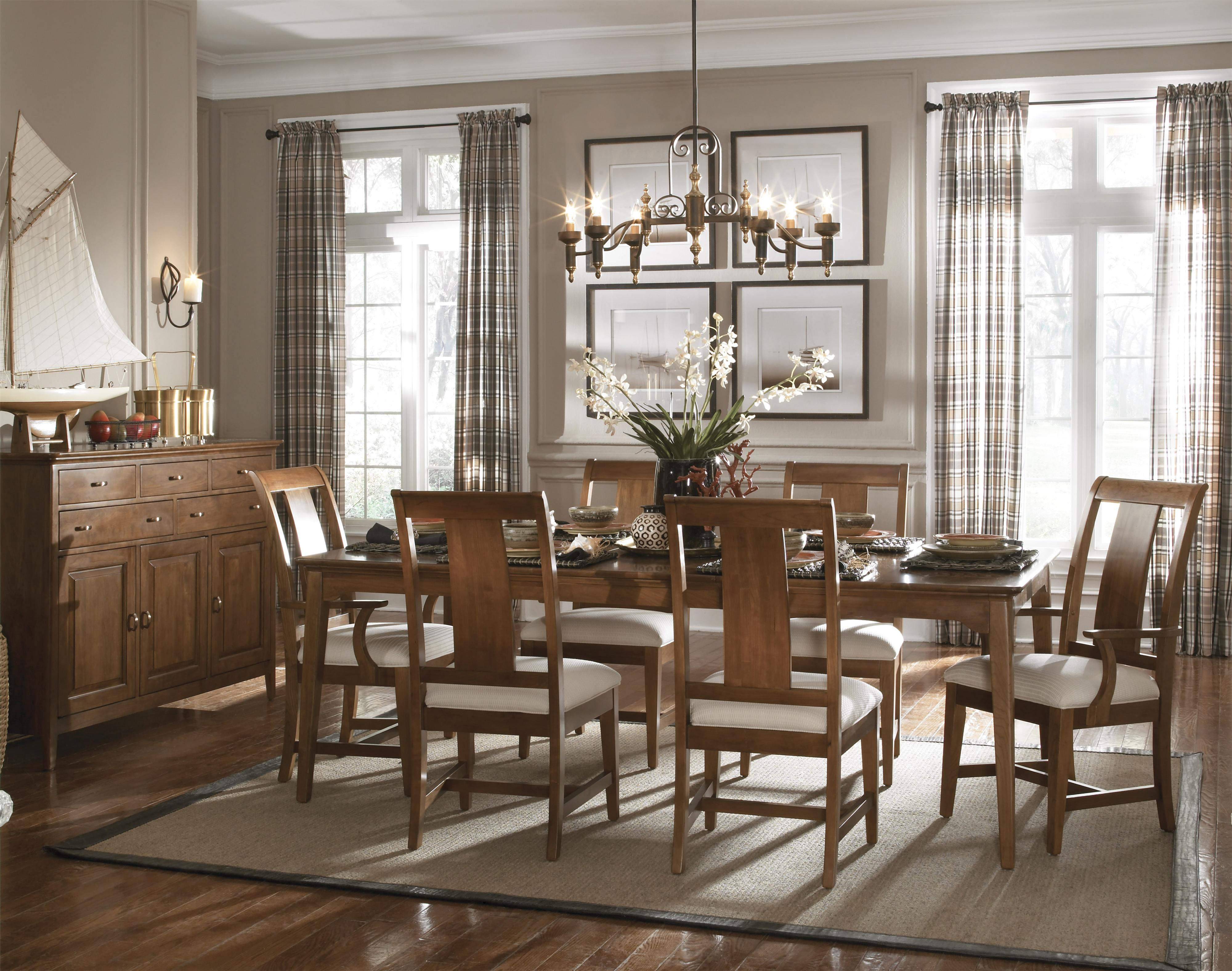 Cherry Park Formal Dining Room Group by Kincaid Furniture at Belfort Furniture