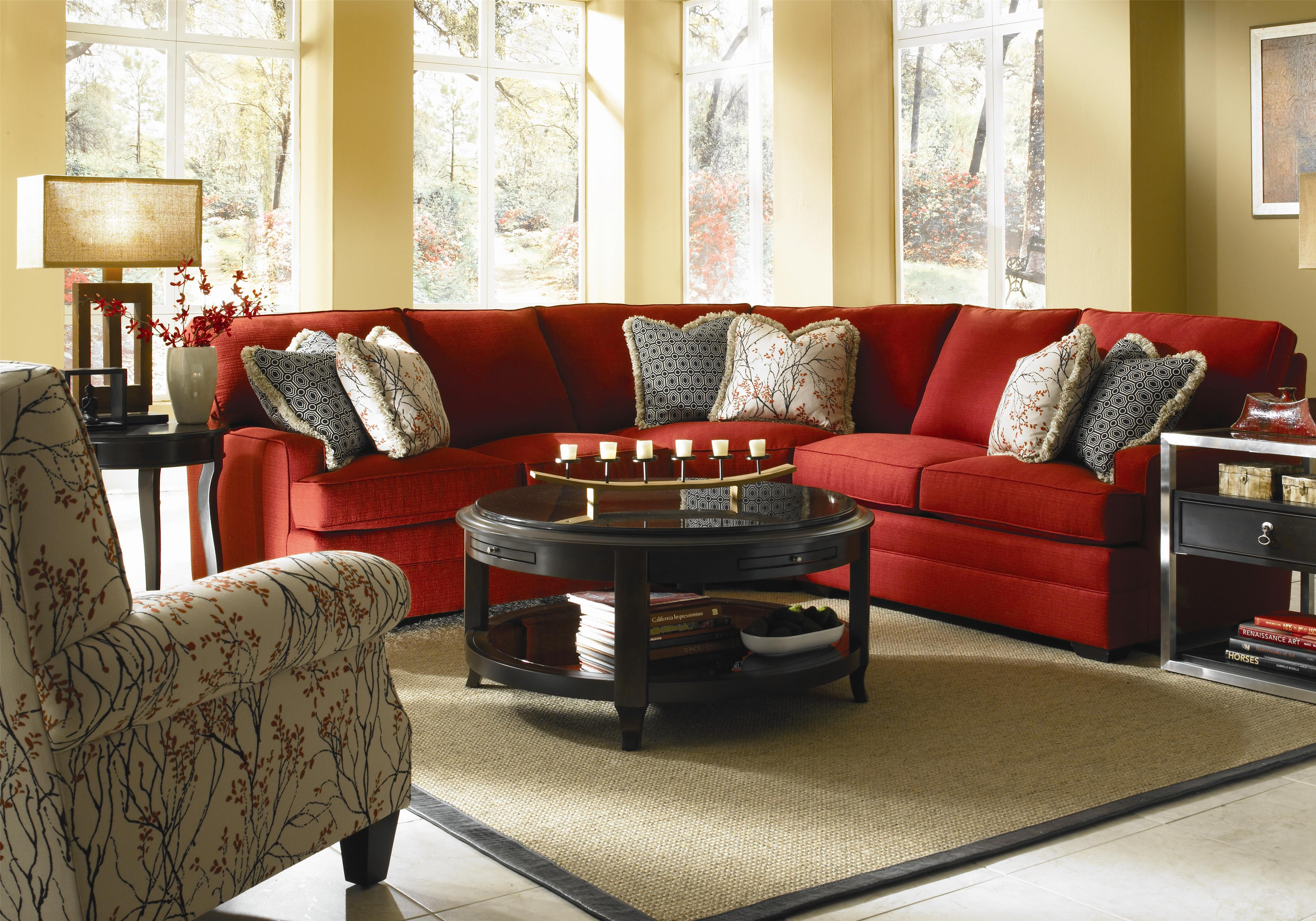 Kincaid Furniture Custom Select Upholstery Custom 3 Piece