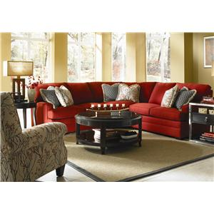 Kincaid Furniture Custom Select Upholstery Custom 3-Piece Sectional Sofa