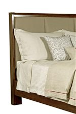 Spectrum Bed with Fashion-Forward Upholstered Headboard