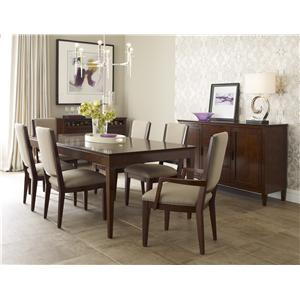 Kincaid Furniture Elise Formal Dining Room Group