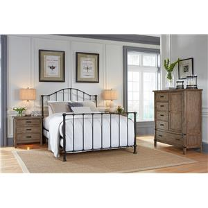 Kincaid Furniture Foundry Bedroom Group