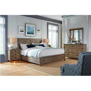 Kincaid Furniture Foundry Queen Bedroom Group