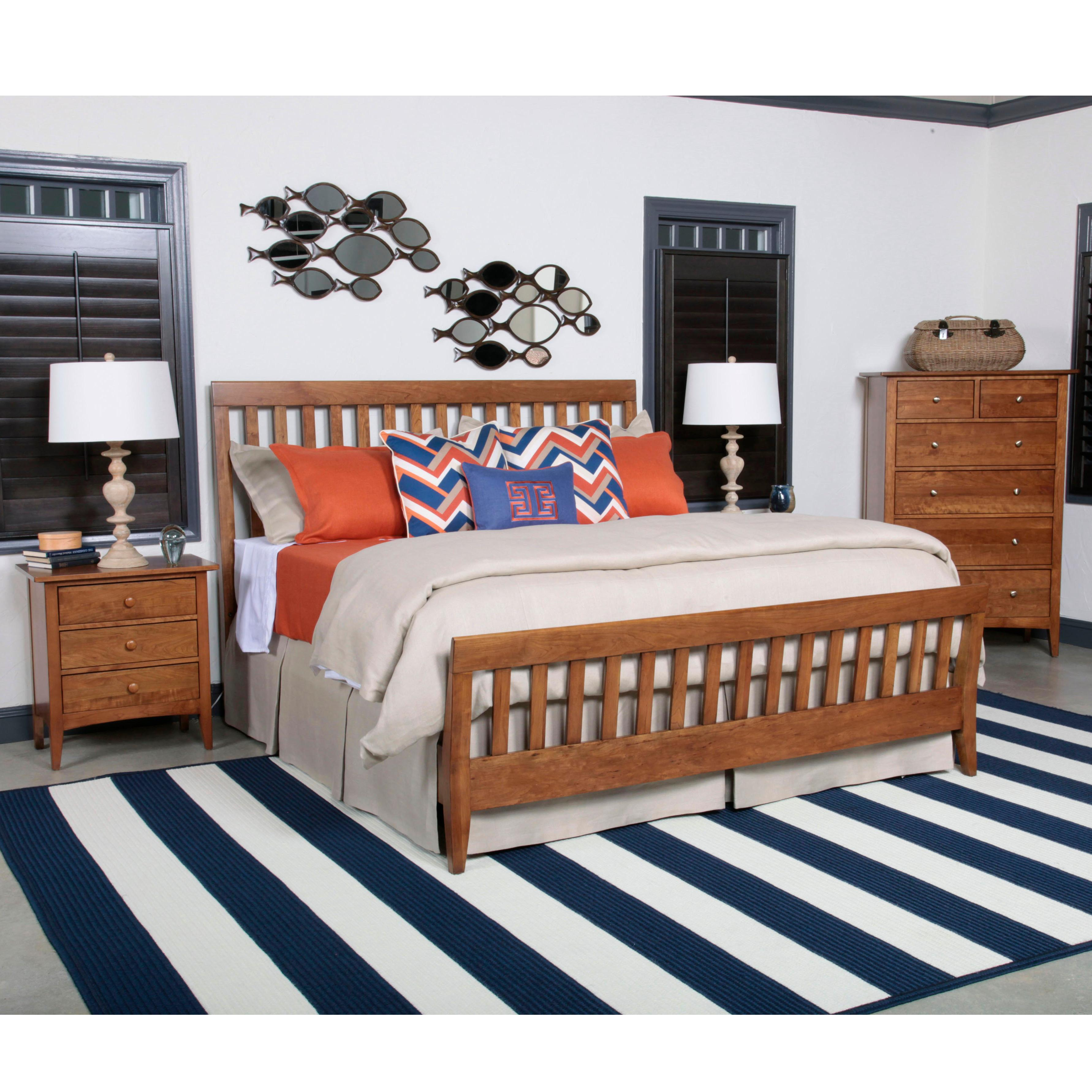 Kincaid Furniture Gatherings K Bedroom Group - Item Number: K Bedroom Group 6