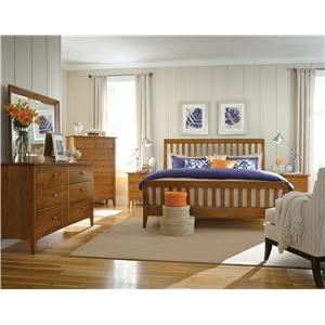 Kincaid Furniture Gatherings Q Bedroom Group