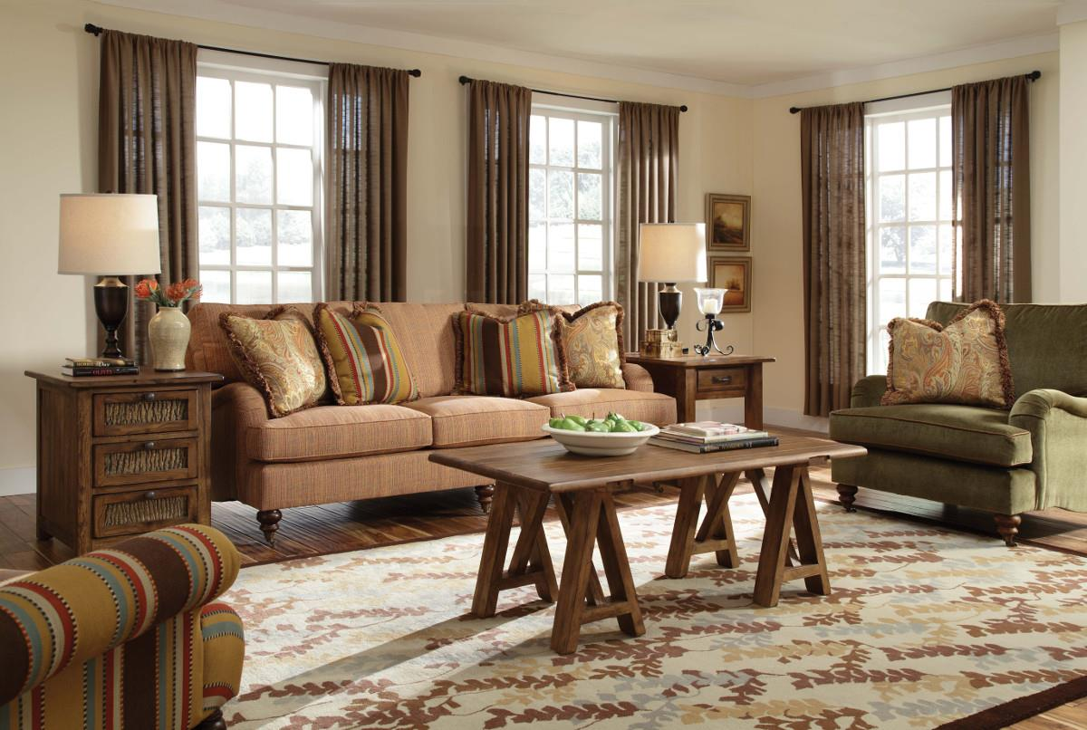 Greenwich Stationary Living Room Group by Kincaid Furniture at Johnny Janosik