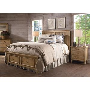Kincaid Furniture Homecoming Open Nightstand with Open Shelf and One Drawer