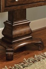 Classic Carved Pedestal On Select Items