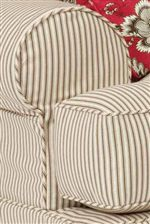 Rolled Arms Offer a Casual Look & Comfortable Design for Any Home