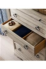 Clever Storage with Whisper Soft Close Drawers, Drawer Dividers for Bedroom, Built-In Night Lights