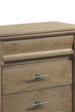 Drawers featuring no hardware