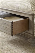 Footboard Storage Drawers Available