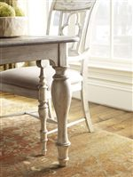 Beautiful Turned Legs Featured on the Canterbury Dining Table
