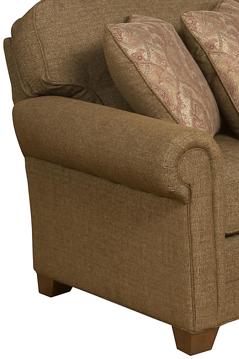 king hickory brighton 2 piece sofa with exposed wood legs turk furniture sofa sectional joliet las salle kankakee plainfield