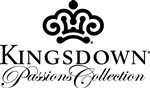 Kingsdown Garland Full Extra Long Pillow Top Mattress and Foundation