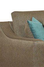 Loose, Boxed-edge Cushion Back Pillows