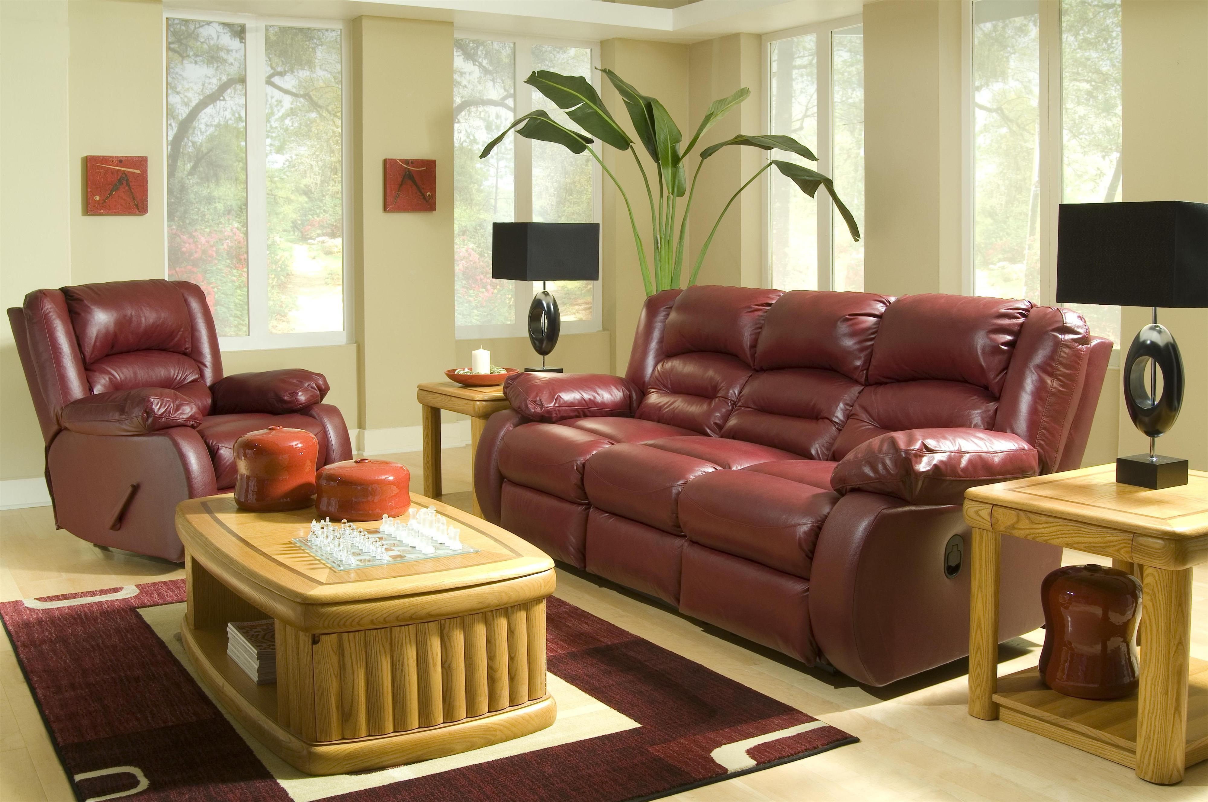 Klaussner Austin Reclining Living Room Group - Item Number: L335 Living Room Group 1
