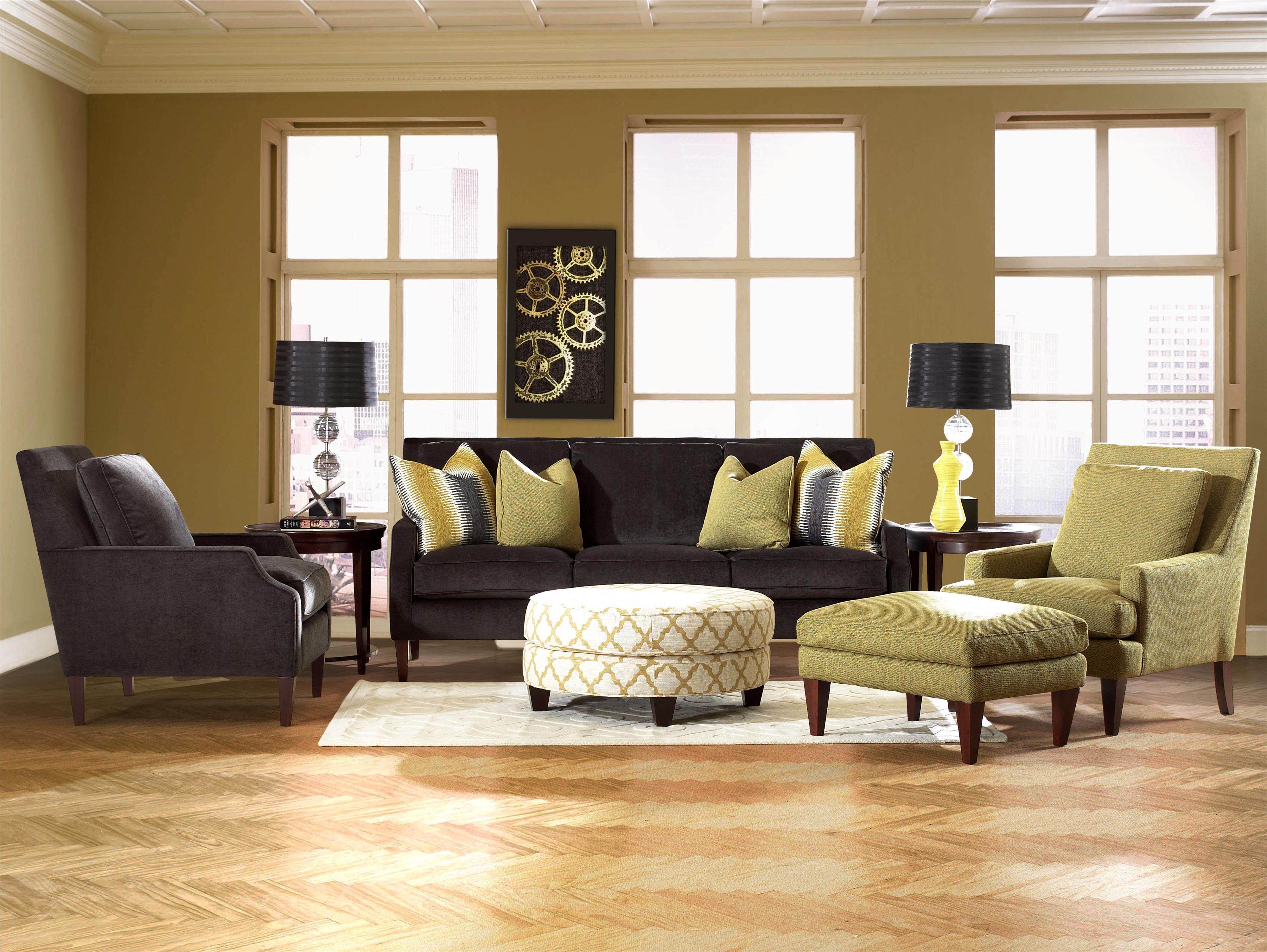 Klaussner Becca Stationary Living Room Group - Item Number: D92400 Living Room Group 1
