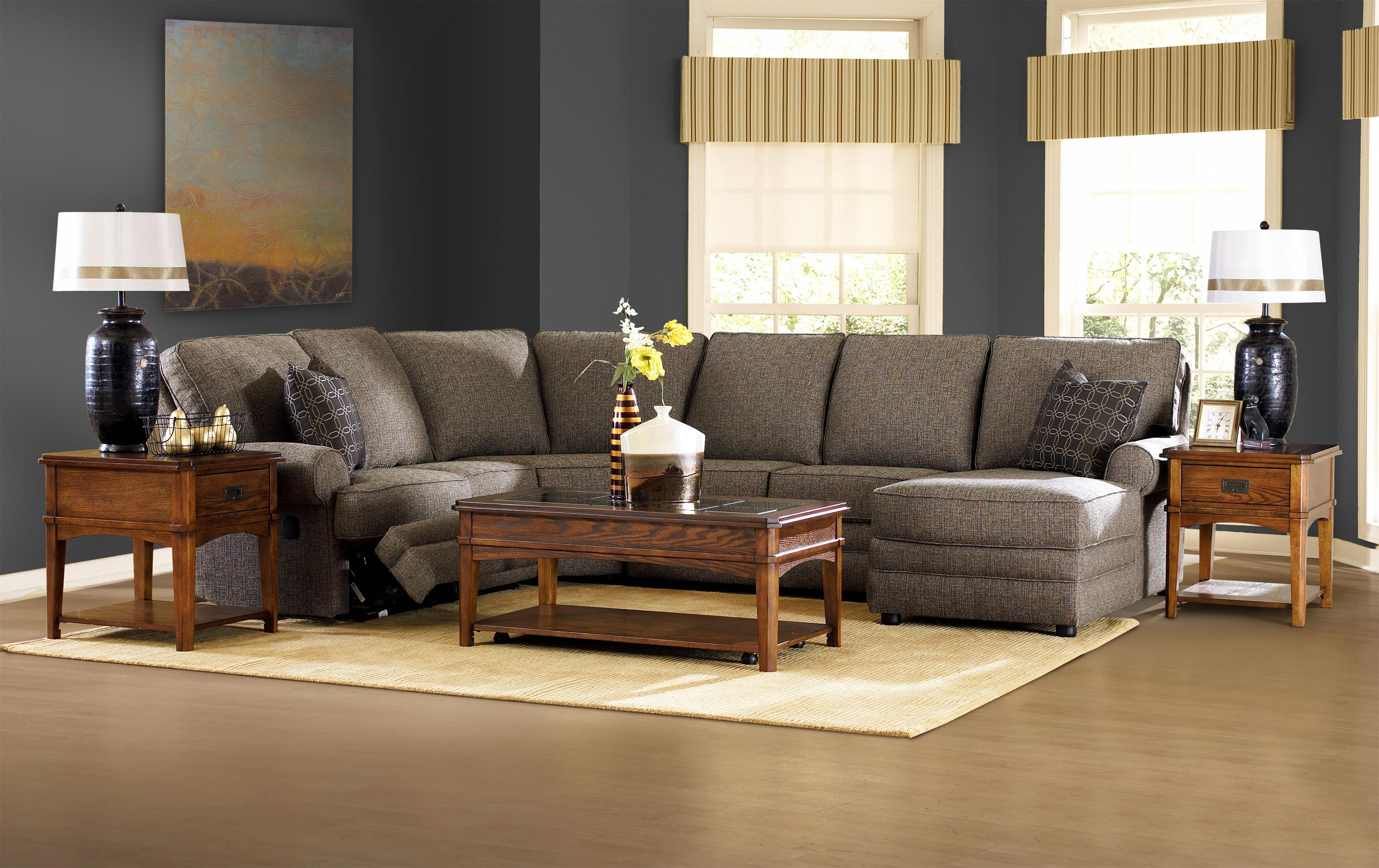 Klaussner Belleview Transitional Dual Reclining Sofa Value City