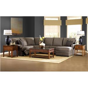 Elliston Place Belleview Classic Power Reclining Loveseat with Rolled Arms