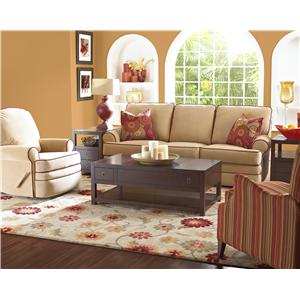 Elliston Place Belleview Reclining Sectional with Left-Side Chaise