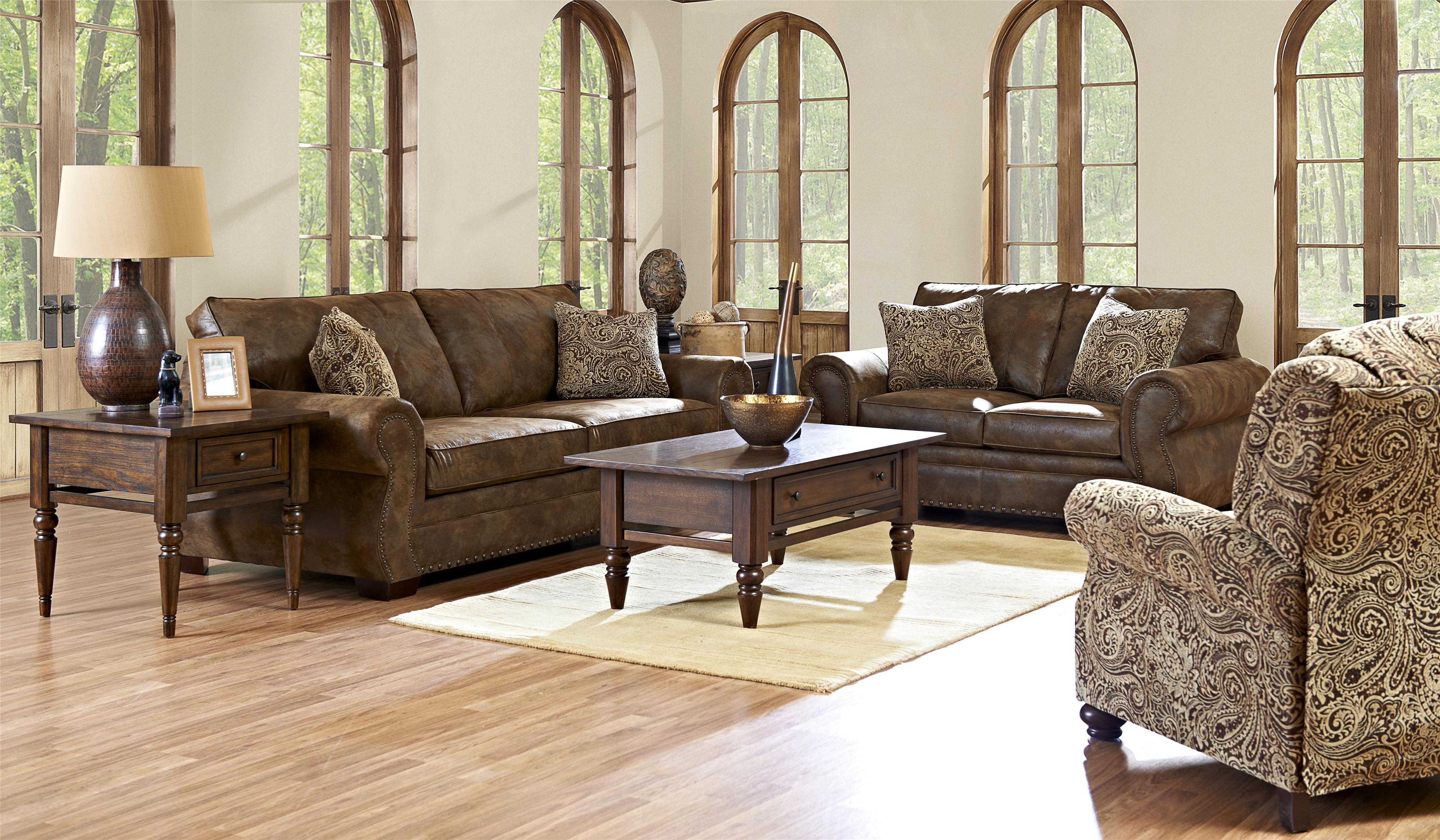 Klaussner Blackburn Stationary Living Room Group - Item Number: K14310 Living Room Group 1