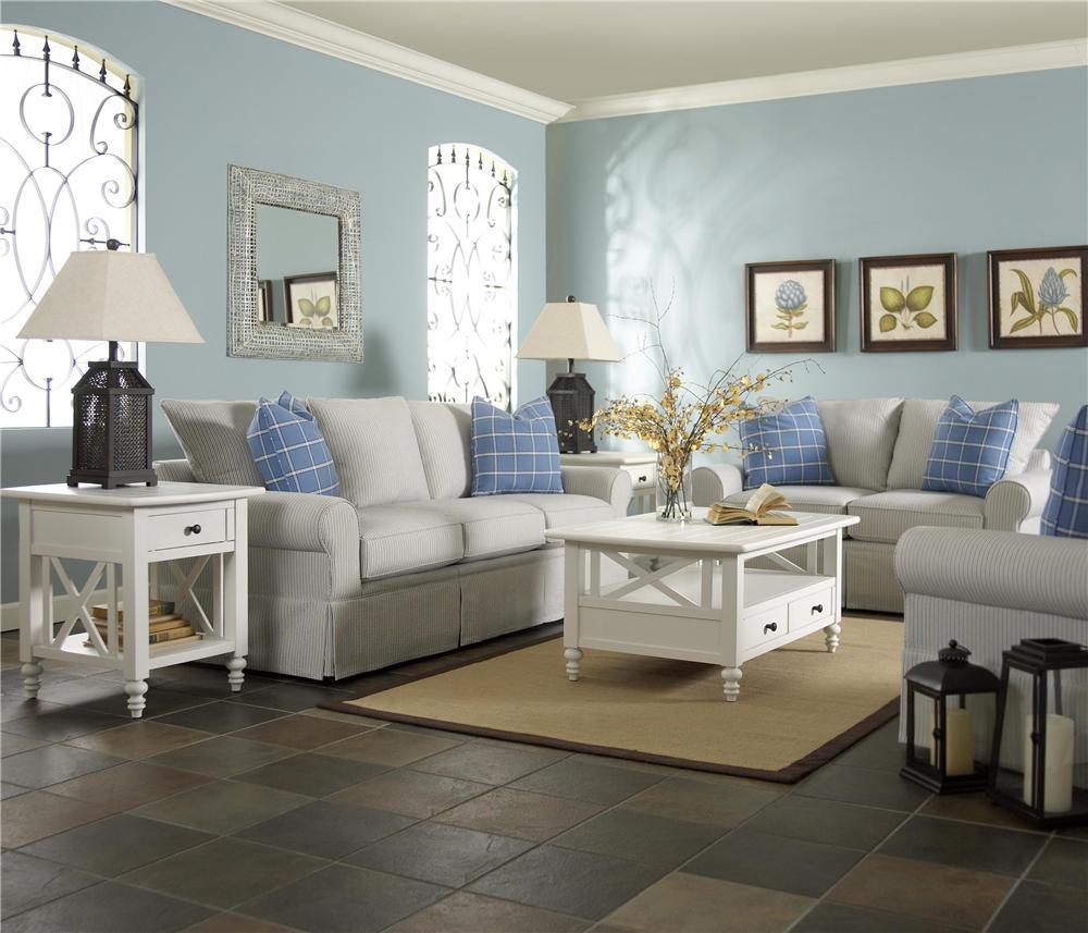 Klaussner Brook Stationary Living Room Group - Item Number: 820 Living Room Group 1