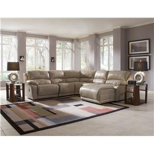 Klaussner Charmed Double Reclining Unit Sofa