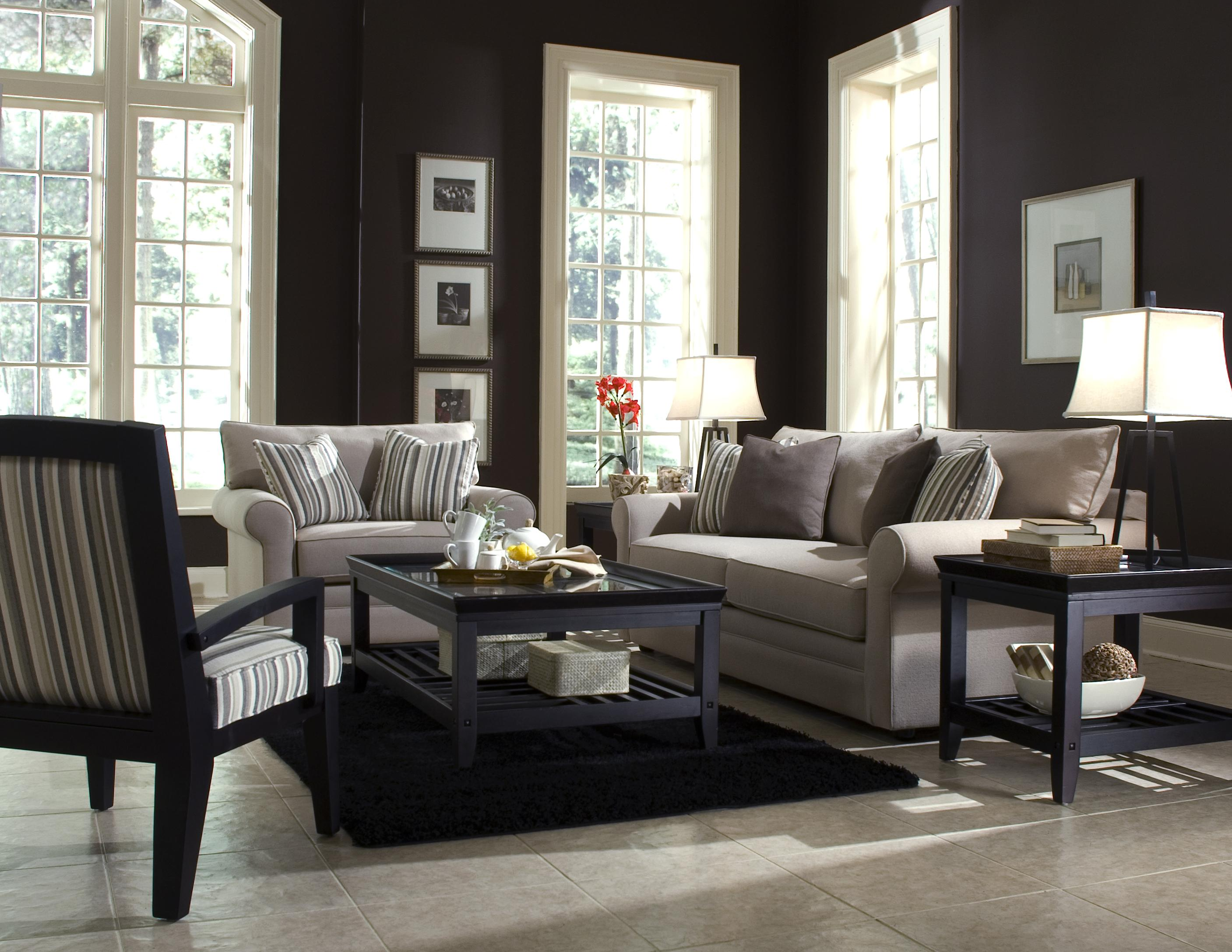 Comfy Stationary Living Room Group by Klaussner at Northeast Factory Direct