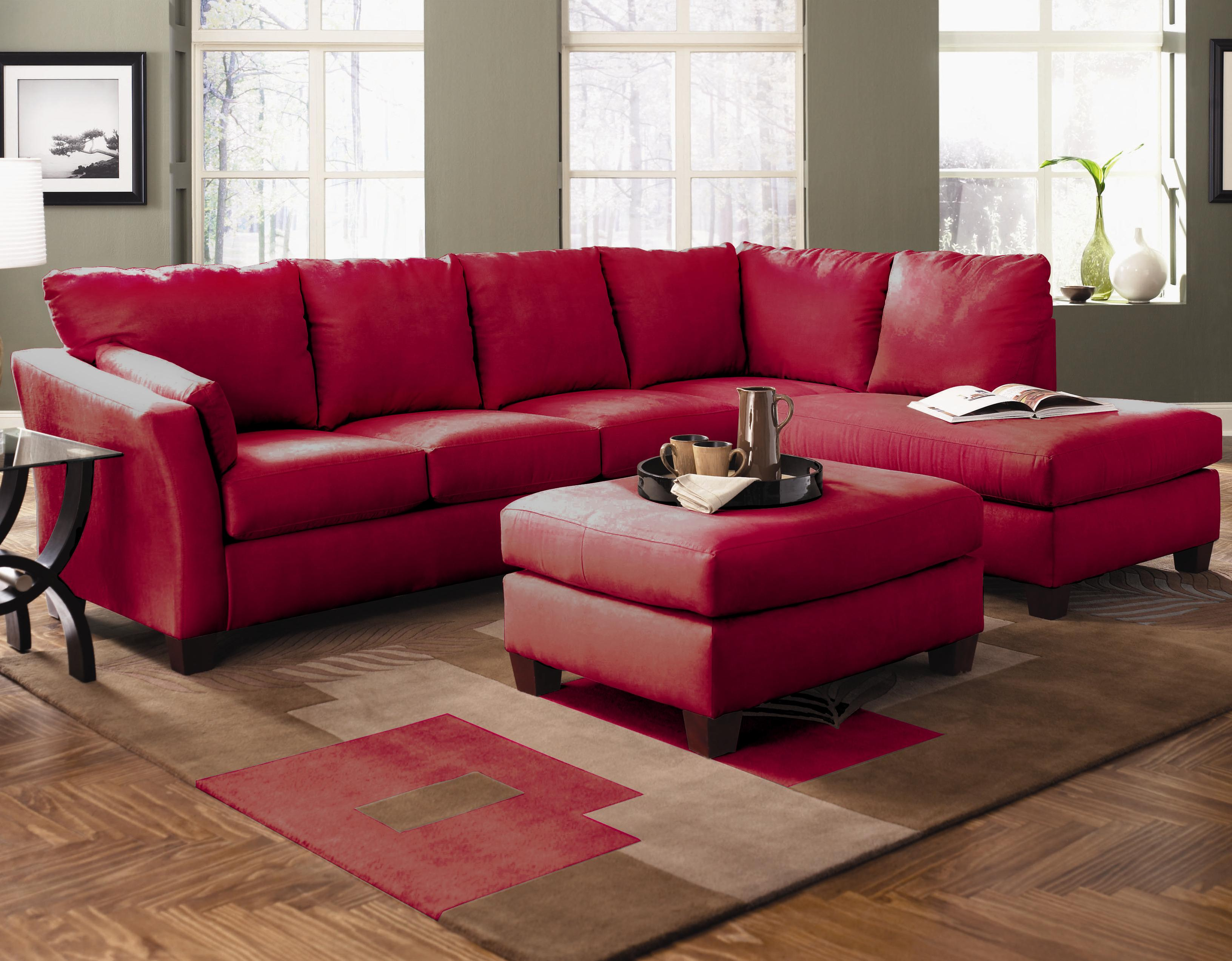 Klaussner Drew Two Piece Sectional Sofa With Chaise - Value City Furniture - Sectional Sofas : two piece sectional sofa with chaise - Sectionals, Sofas & Couches