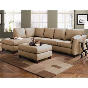 Klaussner Drew Two Piece Sectional Sofa With Chaise  sc 1 st  Value City Furniture : klaussner drew sectional - Sectionals, Sofas & Couches