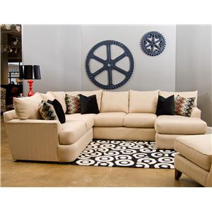 Elliston Place Findley Contemprary L-Shaped Sectional Sofa