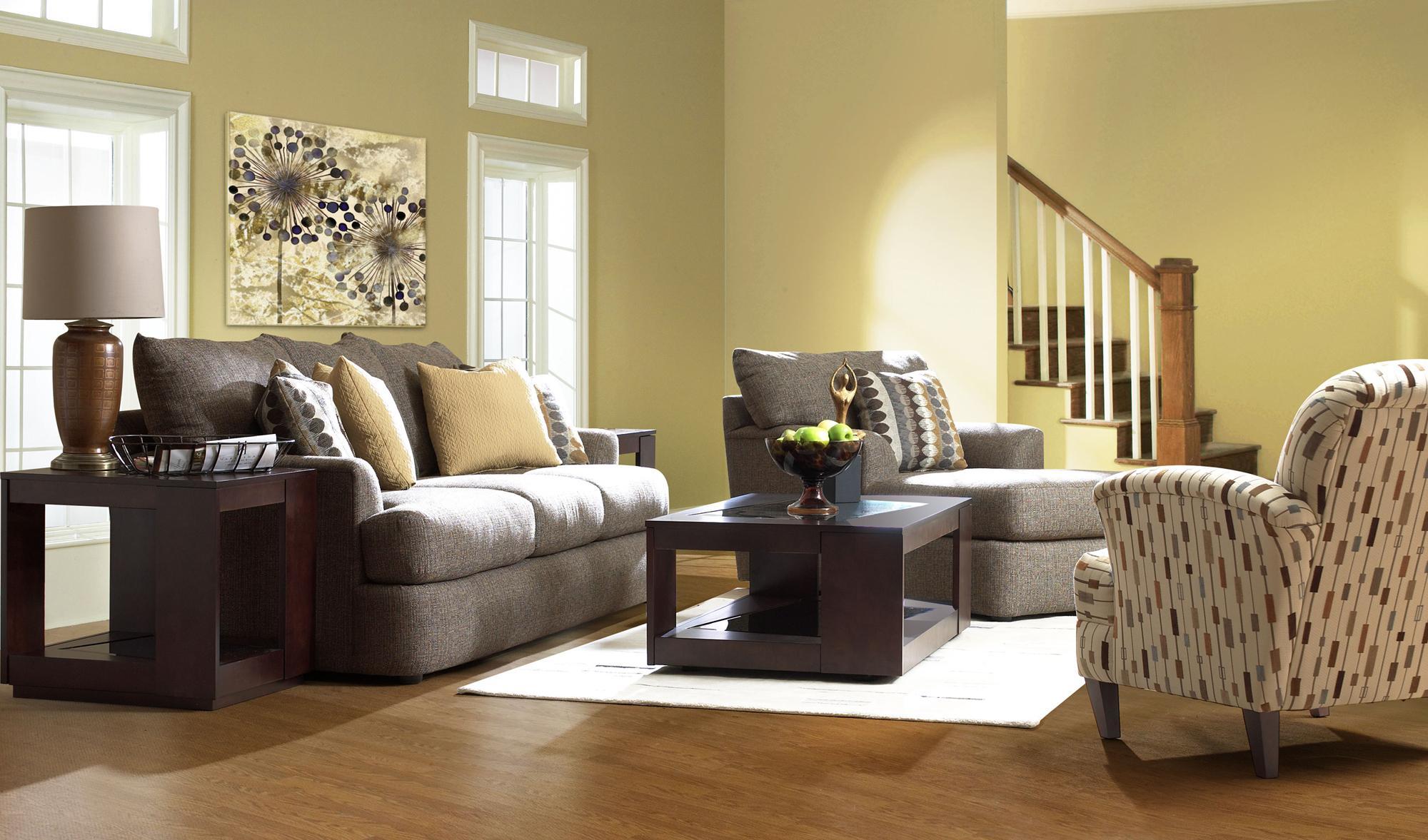 Findley stationary living room group by klaussner wolf for Klaus k living room brunssi