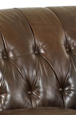 Button Tufted Back Cushion