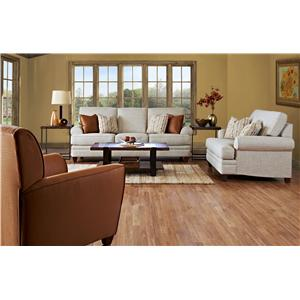 Klaussner Fresno Stationary Living Room Group